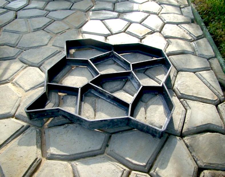Формы своими руками для изготовления тротуарной плитки